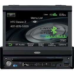 "1DIN 7"" widescreen Bluetooth/multimedia system"