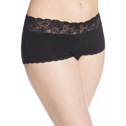 Cosabella Women's Plus-Size Never Say Never Cheekie Cotton Hotpant Panty