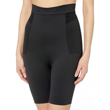 Bali BLACK Customized Comfort Seamless Hi Waist Thigh Slimmer, US 2X-Large | eBay